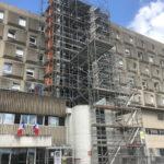 Échafaudage Centre Hospitalier - Meuse