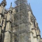Echafaudage Cathédrale de Reims